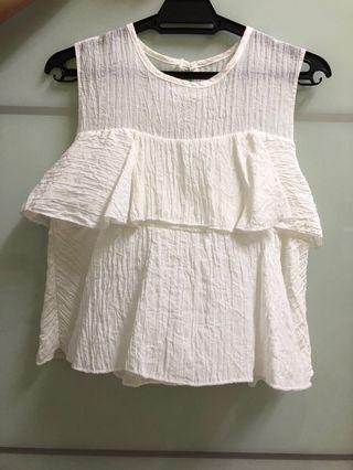 White Top sleeveless