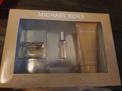 MK perfume and gift set