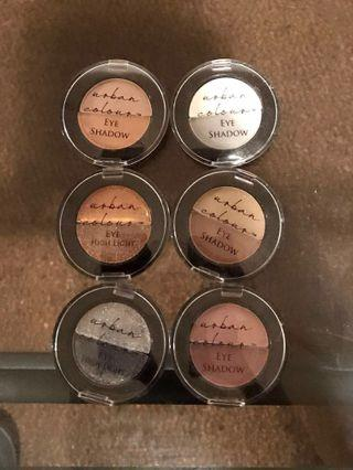 Eye shadow duos