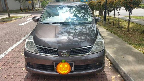 Nissan Latio Sports (Hatchback)  1.6A keyless