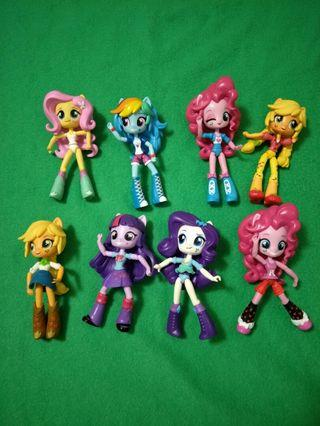 My Little Pony Equestria Girls Figures
