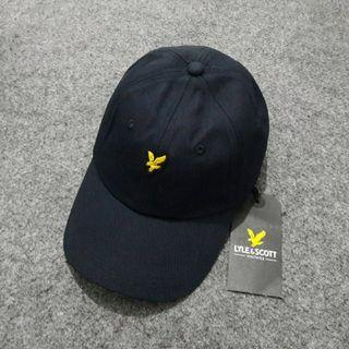 Topi Caps Lyle Scott Baseball Black