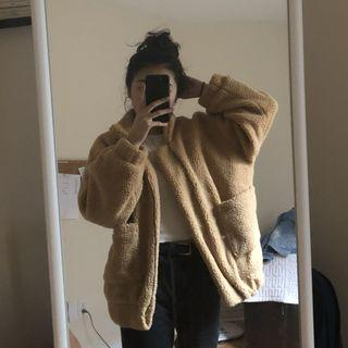 Teddy Bear Fuzzy Jacket