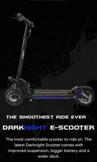 Dark knight scooter