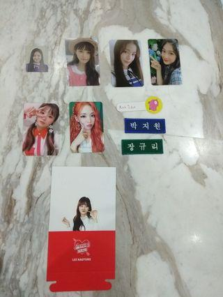 [WTT/WTB/WTS] Fromis_9 Photocards / Other Items