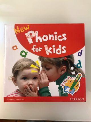 New Phonics for kids 全套 連 Easy pen