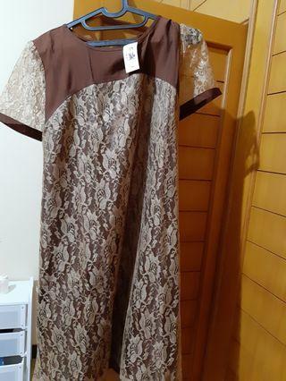 Dress Brokat Ibu Hamil