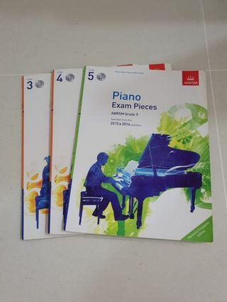 Grade 3, 4 and 5 Piano Exam Pieces (With CD)