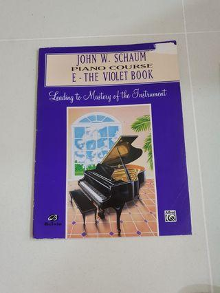John W. Schaum Piano Course books (Leading to Mastery of the Intrument)