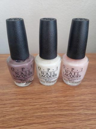 OPI Nail Lacquers