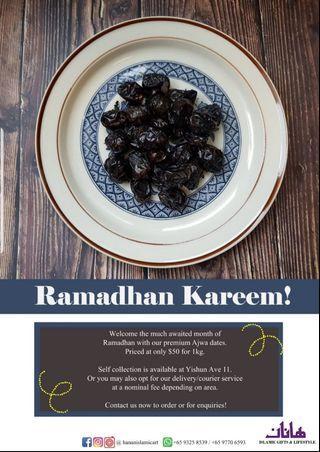 Kurma Ajwa Madinah [Ramadhan 2019 Promo!]