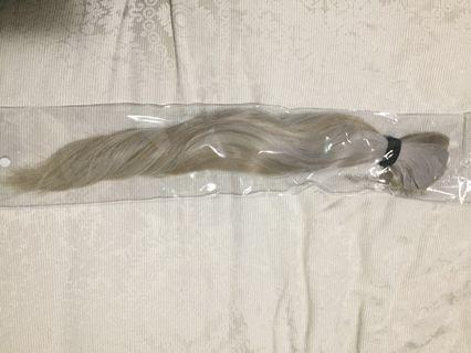 Tape blonde hair extensions