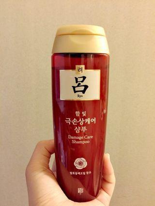 韓國 呂 Ryo 漢方洗髮精 180ml
