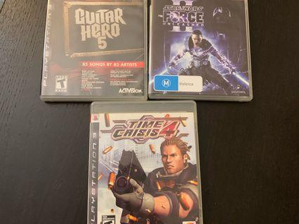3 for $15, PS3 games