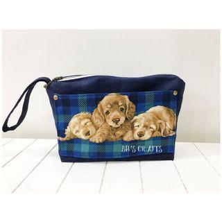 Handmade doggie pouch