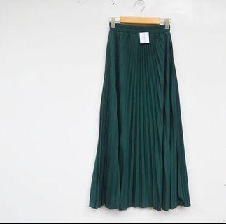 Pleated Skirt rok plisket prisket