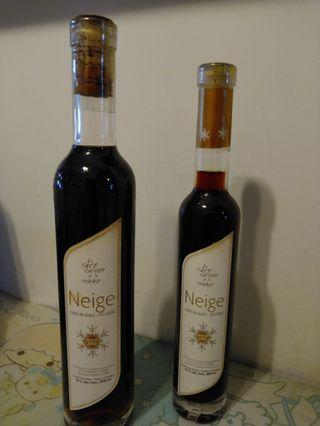 加拿大Neige 冰酒 375 + 200 ml, 18歲以下免問。