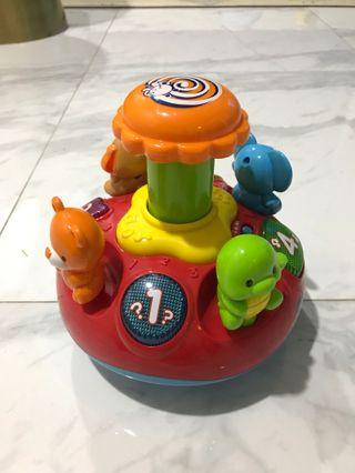 Vtech Spin Animal 1 2 3 Music Toy
