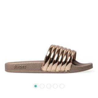 Rose Gold Slides by SLYDES