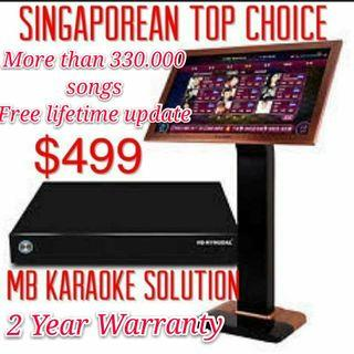 ㊗️MB Ktv song Karaoke system (free monthly update 2 years warranty)