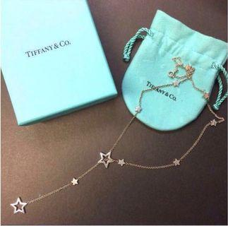 Tiffany & Co. Lariat Star Link necklace