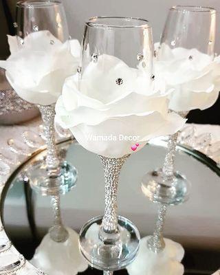 Glam Glass Decor Gift Perhiasan