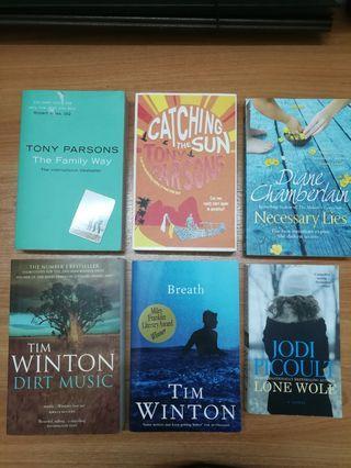 Fiction Books / Novels