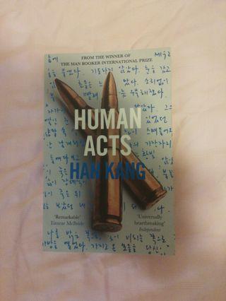 Human Acts - Han Kang (Fiction)