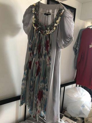 Dress ( colourful, elegant)多石一件頭裙