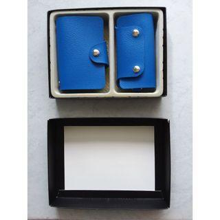 Blue Executive's key chain pouch & name card set (BNIB) #EndgameYourExcess