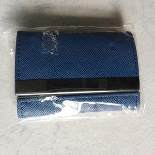 Blue Travel Coin Pouch with 2 sides (BN)