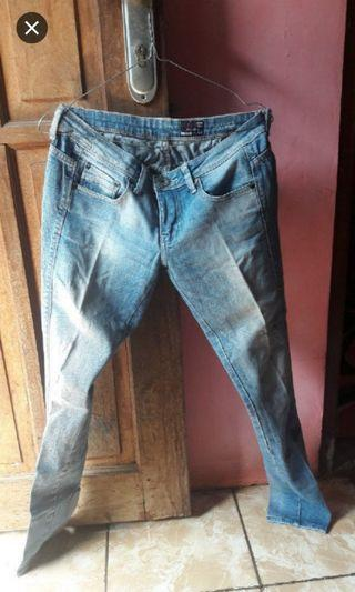 Celana jeans logo ori