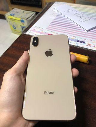 WTS/WTT iPhone Xs MAX 256gb gold