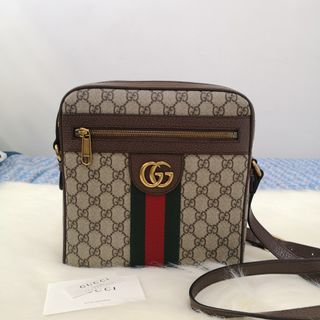 abaf5072923 ON HAND  Authentic Gucci Ophidia GG Supreme Canvas Messenger Bag
