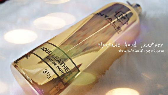 5ml / 10ml Montale Aoud Leather decant / travel spray.