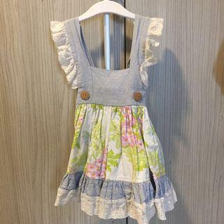 🇺🇸 Pretty Pinafore style Dress #OYOHOTEL