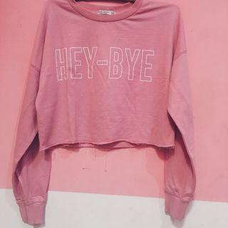 crop sweater bershka