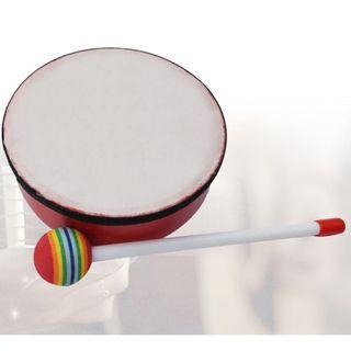 "(Ready Stock)SN066 - 6"" Japanese Hand Drum, Tom Tom, Mini Conga, Bongos, Percussion for Kids - Musical Instrument Educational Toy"