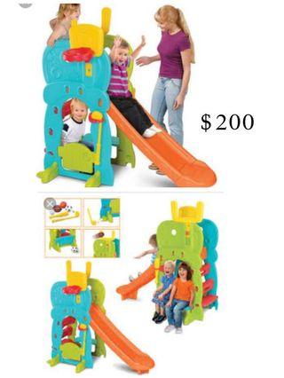 Grow & Up 5 in 1 Activity Clubhouse kids slide in excellent condition.