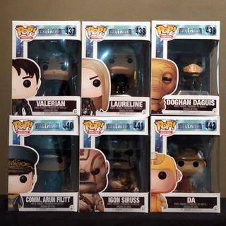 [Sale!] Funko Pop! Valerian and the City of the Thousand Planets set