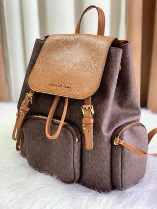 8365de8a205e7d michael kors backpack rhea | Vintage Collectibles | Carousell ...