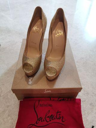 50% off Authentic Christian louboutin lady peep
