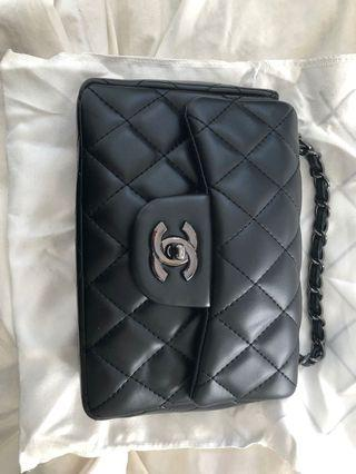 Chanel black inspired bag