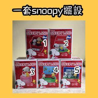 Snoopy land 玩具 擺設 史努比 Charlie Brown toy decoration peanut 花生漫畫 禮物 史路比