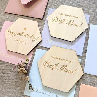 Personalised coasters - Mother's day!