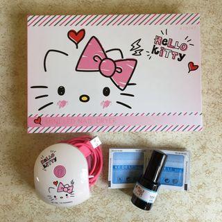 [全新] Hello kitty Gel甲機 nail manicure 指甲油 生日禮物 女生 聖誕禮物 抽獎 少女 粉紅色