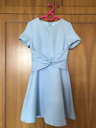 Ohvola dress in light blue