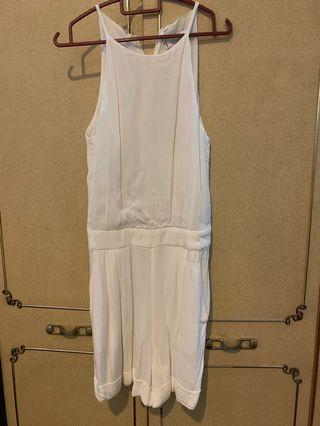 Mango (MNG) white playsuit