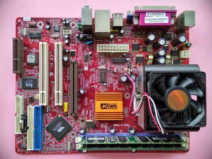 舊機救星:主板+CPU+RAM+Harddisk+Heatsink