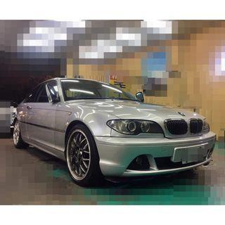 2004年 BMW 320I 經典直六引擎2.2 內外漂亮 底盤安靜 可全額貸